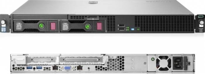 imagine 2 Server Configurabil HP ProLiant DL20 Xeon E3-1230v5 noHDD 8GB 830702-425