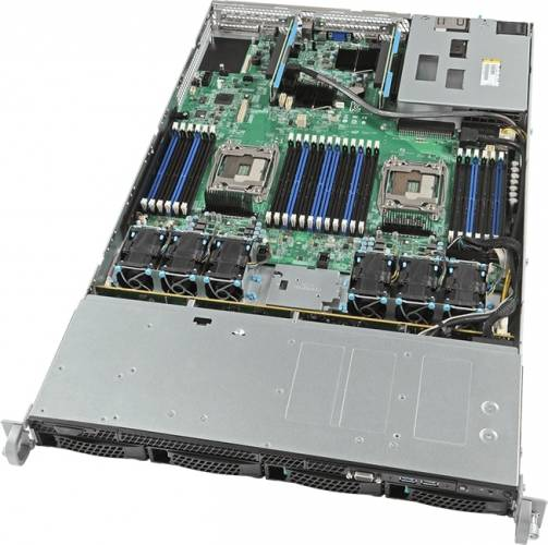 imagine 1 Server Configurabil Intel R1304WT2GS Rack 1U Barebone r1304wt2gs