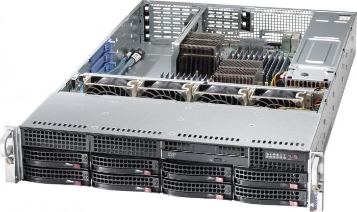 imagine 0 Server configurabil Supermicro 2U SATA 2022G-URF as-2022g-urf