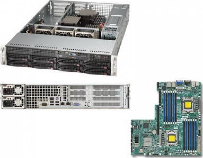 imagine 0 Server configurabil Supermicro SYS-6027B-URF sys-6027b-urf