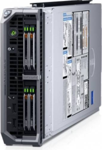 imagine 0 Server Dell PowerEdge M630 Blade 2x E5-2650V4 2x 300GB 8x 16GB 210-aczy