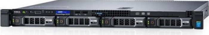 imagine 1 Server Dell PowerEdge R230 Intel Xeon E3-1220 v6 RAM 8GB PERC H330 HDD 1TB PSU 250W No OS per230e312208gb1tb