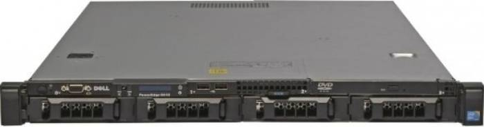 imagine 0 Server DELL PowerEdge R410 2 x Intel Quad Core Xeon L5520 8GB 2x1TB rfb_31821