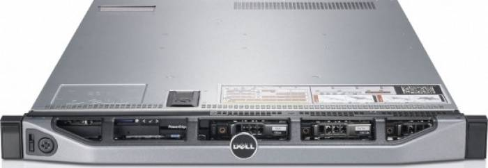 imagine 0 Server DELL PowerEdge R610 1u 2xQuad Core Xeon E5620 2.4GHz SAS 8GB rfb_18290