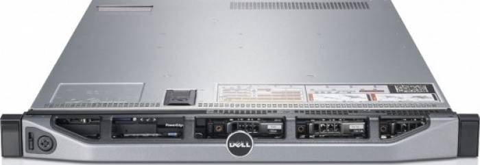 imagine 0 Server DELL PowerEdge R610 1u 2xQuad Core Xeon E5620 2.4 GHz 2x120GB SAS 64GB rfb_18326