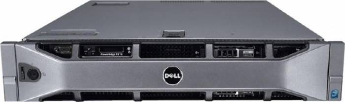 imagine 0 Server Dell PowerEdge R710 2x Intel Xeon Quad Core E5620 2.40GHz - 2.66GHz 16GB DDR3 ECC 2x 500GB SATA Raid Perc H700512 itlk-24376