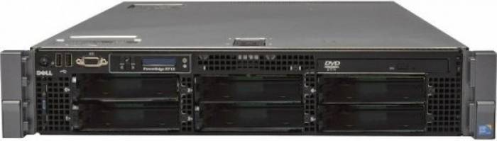 imagine 0 Server DELL PowerEdge R710 Rackabil 2U 2 x Intel Quad Core Xeon L5520 8GB rfb_31126