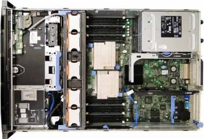 imagine 1 Server DELL PowerEdge R710 Rackabil 2U 2 x Intel Six Core Xeon X5690 48GB 2x480GB SSD rfb_30914