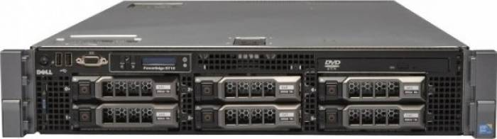 imagine 0 Server DELL PowerEdge R710 Rackabil 2U 2 x Intel Quad Core Xeon L5520 128GB 6x2TB rfb_31141