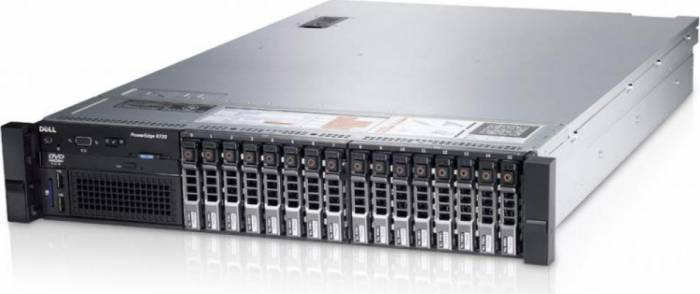 imagine 0 Server Dell PowerEdge R720 2x Intel Xeon Hexa Core E5-2620 V2 2.10GHz - 2.60GHz 72GB DDR3 ECC 2 x 2TB HDD SATA + 2 x 3TB itlk-25209