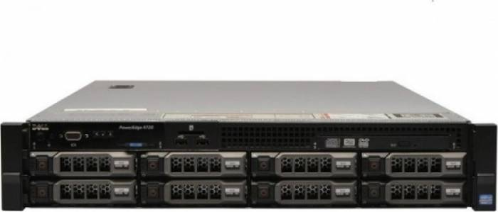 imagine 0 Server Dell PowerEdge R720 2x Intel Xeon Octa Core E5-2650 V2 2.60GHz - 3.40GHz 48GB DDR3 ECC 2 x 1TB HDD SATA + 2 x 2TB itlk-25240