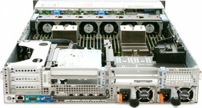 imagine 3 Server DELL PowerEdge R720 Rackabil 2U 2 x Intel Octa Core Xeon E5-2670 32GB 2x480GB SSD rfb_31068
