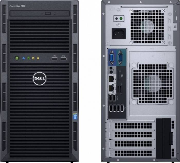 imagine 2 Server Dell PowerEdge T130 Xeon E3-1220v5 1TB 4GB 1000021679