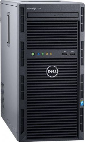 imagine 1 Server Dell PowerEdge T130 Xeon E3-1220v6 1TB 6Gbps 8GB PERC H330 iDRAC Port Card iDRAC8 LOM 1GBE pet1301c