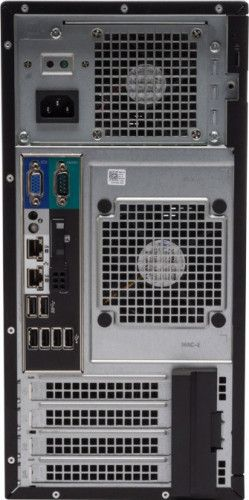 imagine 2 Server Dell PowerEdge T130 Xeon E3-1220v6 1TB 6Gbps 8GB PERC H330 iDRAC Port Card iDRAC8 LOM 1GBE pet1301c