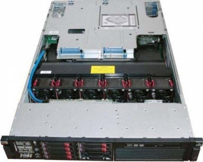 imagine 2 Server HP ProLiant DL380 G6 Rackabil 2U Intel Quad Core Xeon L5520 4GB 2x500GB rfb_32077