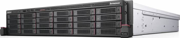 imagine 0 Server Lenovo ThinkServer RD450 E5-2620v3 noHDD 8GB DVD-RW Slim 3 ani garantie 1000019031