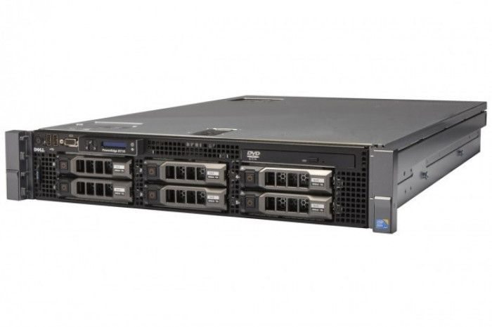 imagine 0 Server Refurbished DELL POWEREDGE R710 2x X5560 2.80GHZ 4 CORE 64GB RAM 2 x 1TB SAS H700 2 x Surse Redundante 750w dellr720e52624