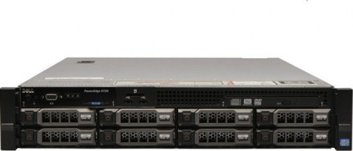 imagine 0 Server Refurbished Dell PowerEdge R720 2x Intel Xeon Deca Core E5-2650L V2 1.70GHz - 2.10GHz 128GB DDR3 ECC 2 x HDD 1.2TB SAS10K + 4x 4TB HD il_30017