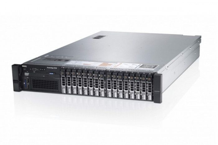 imagine 2 Server Refurbished DELL PowerEdge R720 Rackabil 2U 2x Intel Six Core Xeon E5-2620 64GB DDR3 ECC 4x 900GB SAS 2x Surse Redundante 750W dellr720e52621
