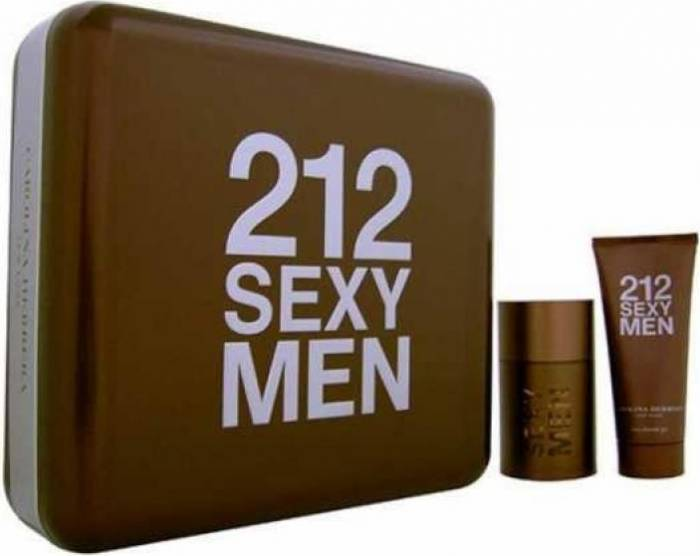 imagine 0 Set Apa De Toaleta 212 Sexy 100ml + Gel De Dus 100ml by Carolina Herrera Barbati 8411061832165