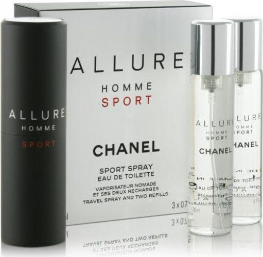 imagine 0 Set Cadou Apa de Toaleta Allure Homme Sport by Chanel Barbati 3x20ml 3145891238006