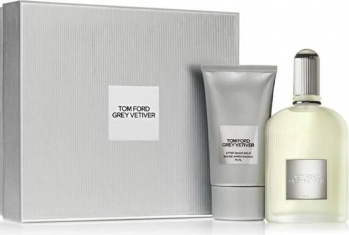imagine 0 Set Tom Ford Grey Vetiver Apa de Parfum 100ml + After Shave Balsam 75ml by Tom Ford Barbati 0888066057486