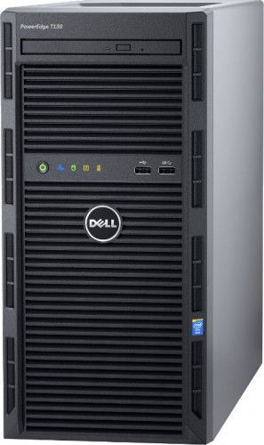 imagine 1 Sistem Server Dell PowerEdge T130 Intel Xeon Kaby Lake E3-1220 v6 2TB 8GB PERC H330 iDRAC8 Basic pet1302c_2t