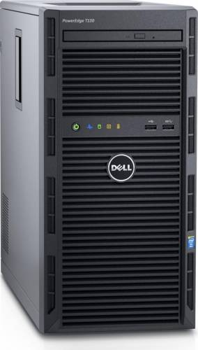 imagine 0 Sistem Server Dell PowerEdge T130 Intel Xeon Kaby Lake E3-1220 v6 2TB 8GB PERC H330 iDRAC8 Basic pet1302c_2t