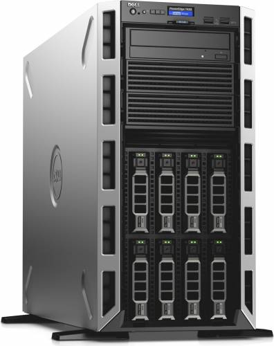 imagine 1 Sistem Server Dell PowerEdge T430 Intel Xeon Broadwell E5-2620 v4 120GB SSD 16GB PERC H730 Single Hot-plug PS 1+0 pet430c1-05