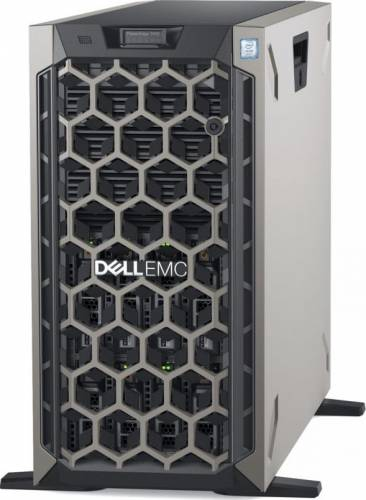imagine 0 Sistem Server Dell PowerEdge Tower T440 Intel Xeon Silver Cascade Lake 4210 600GB 16GB iDrac9 PERC H330 Dual-Port 1GbE On-Board LOM pet440cee01_4210_h330-05