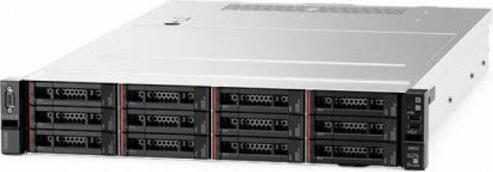 imagine 0 Sistem Server Lenovo ThinkSystem SR550 Intel Xeon Silver 4210  noHDD 16GB PSU 750W No Os 2U 7x04a0ajea