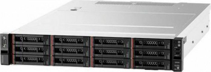 imagine 0 Sistem Server Lenovo ThinkSystem SR590 Intel Xeon Silver 4210 3x600GB 10k SAS 16GB RAM Raid 930-8i PSU 2x 750W No Os 2U 7x99a05mea
