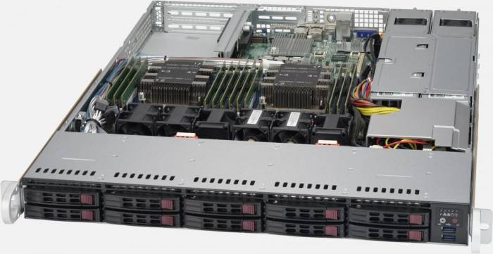 imagine 0 Sistem Server Supermicro SYS-1029P-WTR Dual Socket P (LGA 3647) Rack sys-1029p-wtr