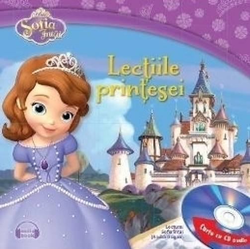 imagine 0 Sofia Intai - Lectiile printesei Carte + CD 978-606-686-505-0