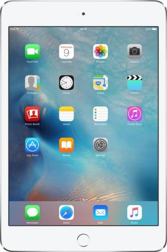 imagine 0 Tableta Apple iPad Mini 4 Wi-Fi 64GB Silver mk9h2hc/a