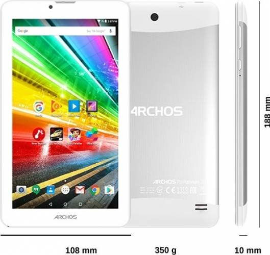 imagine 6 Tableta Archos Access 7 8GB Dual Sim 3G Android 7.0 Platinum ARCHOS Access 70 3G