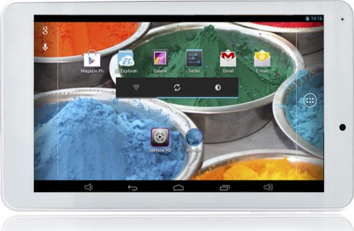 imagine 0 Tableta E-Boda Revo R70 8GB Android 4.2 White 5949023212869_alba