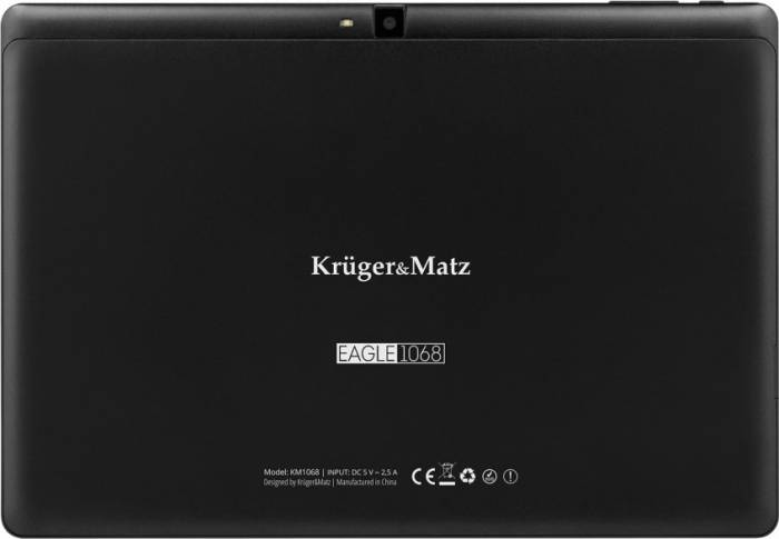 imagine 7 Tableta Kruger Matz Eagle 1068 10.1 16GB 4G WiFi Android 8.1 Black km1068-b