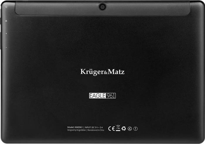 imagine 7 Tableta Kruger Matz Eagle 961 9.6 16GB 3G WiFi Android 8.1 Black km0961-b