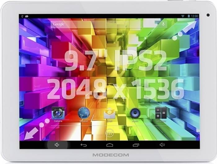 imagine 0 Tableta Modecom FreeTAB 9707 IPS2 X4+ Android 4.2 White TAB-MC-TAB-9707-IPS2-X4+