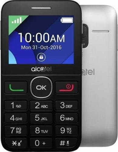 imagine 0 Telefon Mobil Alcatel 2008G Black-Silver 2008gblkslv