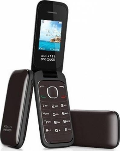 imagine 0 Telefon Mobil Alcatel GINGER 2 1035D Dual SIM Chocolate 1035d-2aalro1