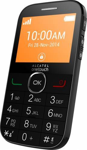 imagine 0 Telefon Mobil Alcatel OneTouch 2004C Black 2004cblk