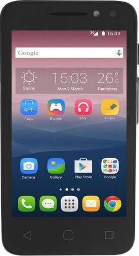 imagine 0 Telefon Mobil Alcatel Pixi 4 4 Dual Sim Black 4034d-2aale11
