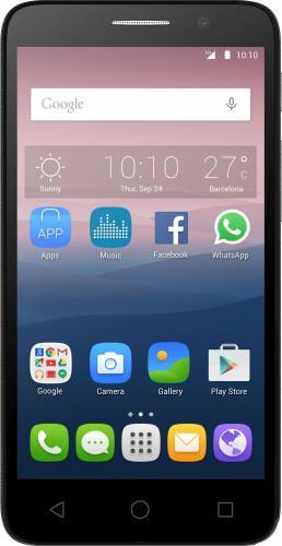 imagine 0 Telefon Mobil Alcatel Pop 3 5015D Dual SIM Black al-5015d-2dale11