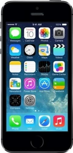 imagine 0 Telefon Mobil Apple iPhone 5S 16GB Space Gray Refurbished IPH5S16GBGRAGRYTVR