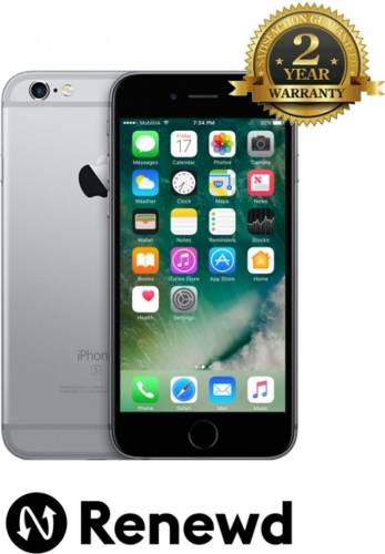 imagine 0 Telefon Mobil Apple iPhone 6s 64GB Space Gray Renewd TRENEWDIPH6S64GBSPGRY