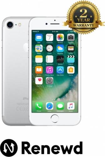 imagine 0 Telefon Mobil Apple iPhone 7 32GB Silver Renewd RND-P70232