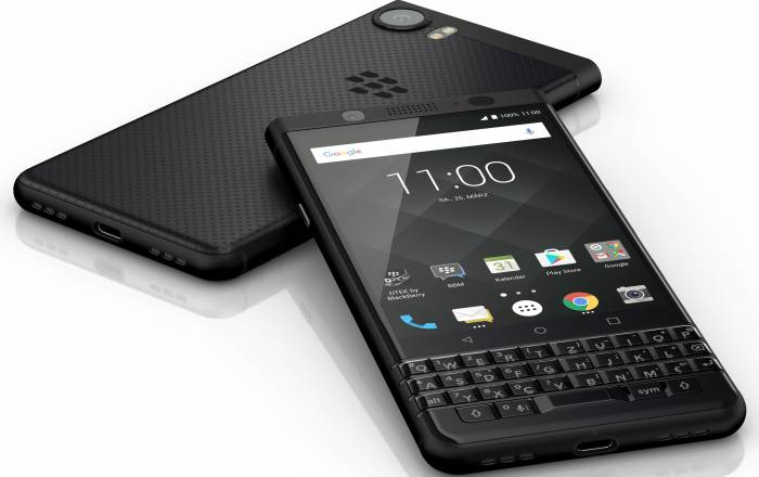 Telefon Mobil BlackBerry KEYone Qwerty 64GB 4G Black Edition BBKEYONEBLK